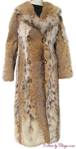 Lynx Fur Coat Front Image
