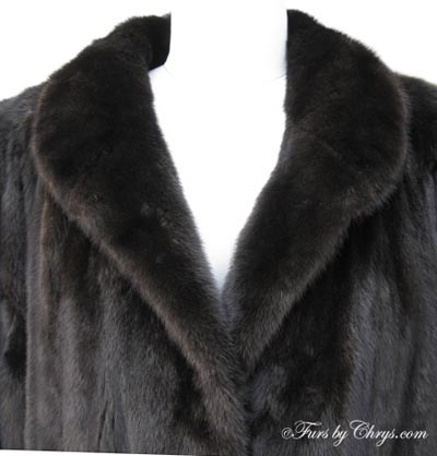 Ankle Length Ranch Mink Coat RM550 - Furs by Chrys